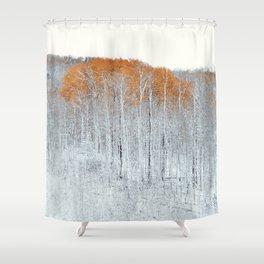 Aspen Gold I Shower Curtain