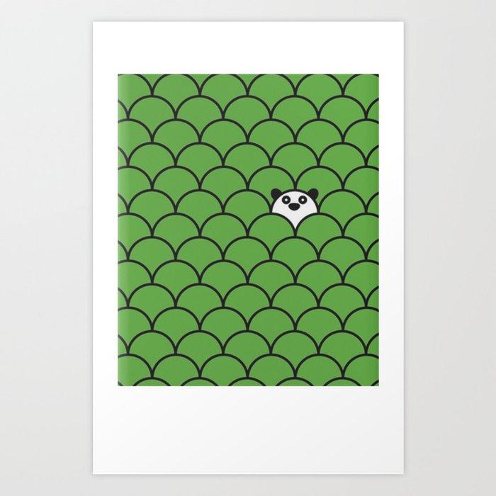 The Last… Panda Art Print
