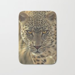 Leopard - On the Prowl Bath Mat