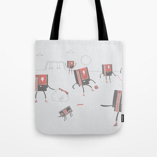 Go Play Outside Tote Bag