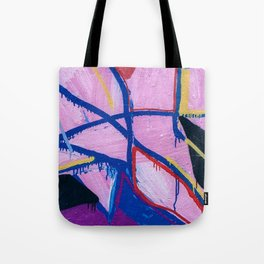 Washed Out Magenta Tote Bag