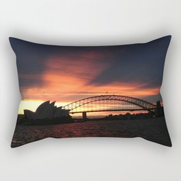 Sunset in Sydney Rectangular Pillow