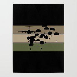 Airborne Jump Poster