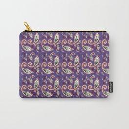 Oriental ornament purple . artwork Carry-All Pouch