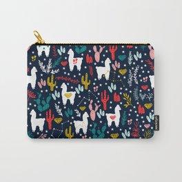 Cute Alpaca Carry-All Pouch