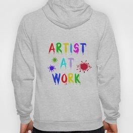Artist at Work Hoody