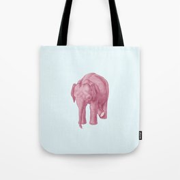 Pink elephants and the emperor of icecream Tote Bag