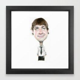 Jim Halpert  Framed Art Print