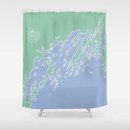 Casco Bay Maine USA Shower Curtain