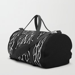 White branches Duffle Bag