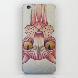 Upside-Down Sphynx iPhone Skin
