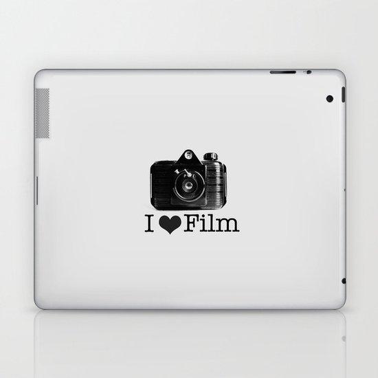 I ♥ Film (Grey/Black) Laptop & iPad Skin