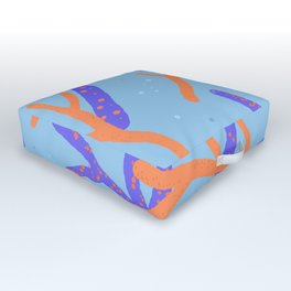 Corals Outdoor Floor Cushion