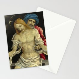"""Filippino Lippi """"Pietà (The Dead Christ Mourned by Nicodemus and Two Angels)"""" Stationery Cards"""