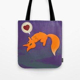 Fox&Moon Tote Bag