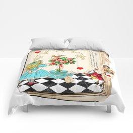 Alice's Book Alice in Wonderland Comforters