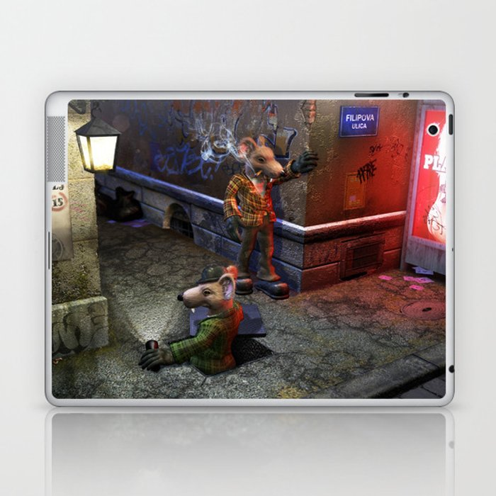 Izbavitelj - The Rat Saviour Laptop & iPad Skin