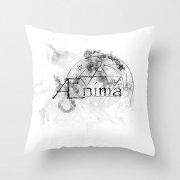 AEnima // Astrological Symbols Throw Pillow