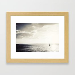Harbor Island Framed Art Print