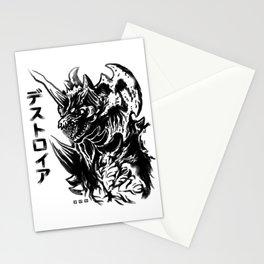 Waterbrushed MegaVillain Stationery Cards