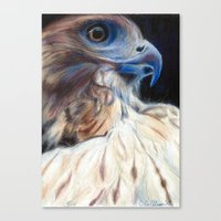 ruby Canvas Prints featuring Ruby by E.C. Ellison