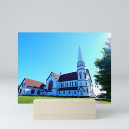 St. Mary's Church front view Mini Art Print