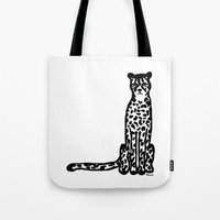 cheetah Tote Bags featuring Cheetah by Helena's universe