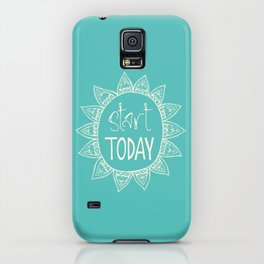 start today iPhone Case