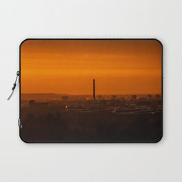 Sunset over the city Laptop Sleeve