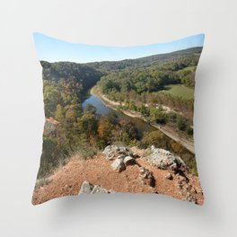 Sparrowhawk Mountain Series, No. 9 Throw Pillow