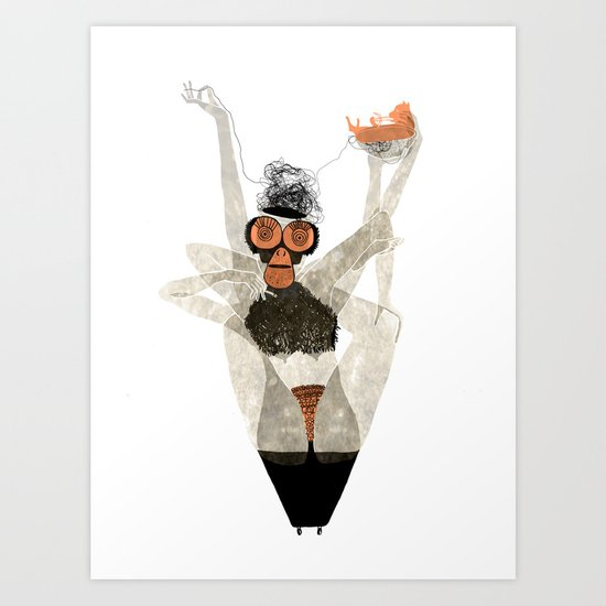 May I introduce to you: The Graphic Designer Art Print