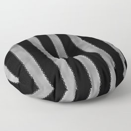Gothic Stripes II Floor Pillow