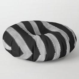 Gothic Stripes II Floor Pillow