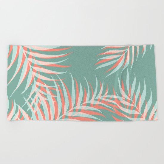 Palms Vision #society6 #decor #buyart Beach Towel