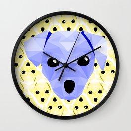 Pup Wall Clock