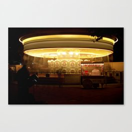 London Carrousel Canvas Print