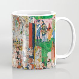 Christ's Entry into Brussels by James Ensor, 1889 Coffee Mug
