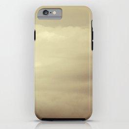Alaskan clouds iPhone Case