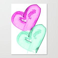 Big Heart Canvas Print