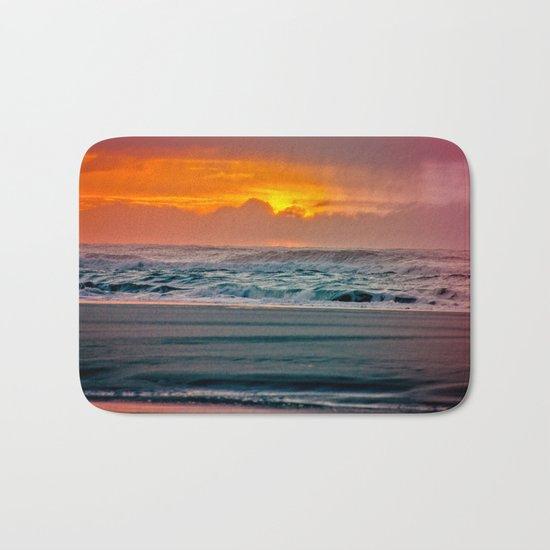 Ocean Sunset - Pacific Coast Highway 101 Bath Mat
