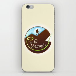 Vamos (Let's Go) - Hiking iPhone Skin
