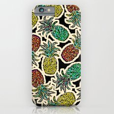 Pineapple Pandemonium Two - Retro Tones iPhone 6 Slim Case