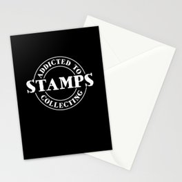 Addicted Stamps Collecting Stationery Cards