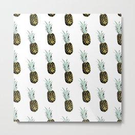 Take my pineapple! Pattern :) Metal Print