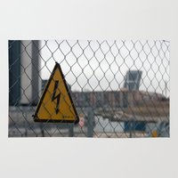 madrid Area & Throw Rugs featuring Danger Madrid by OSCAR GBP