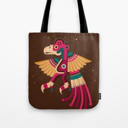 """""""Chiconcuetzalli"""" The Scarlet Tote Bag"""