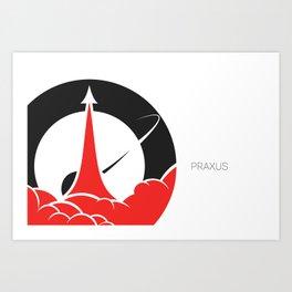 Praxus Logo Art Print