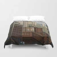 labyrinth Duvet Covers featuring Labyrinth by Megs stuff