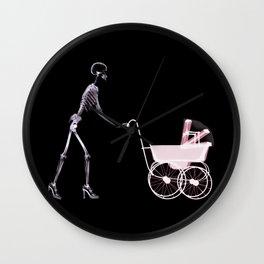 Mother 's Skull  Wall Clock