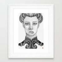 lana Framed Art Prints featuring Lana by ericajc